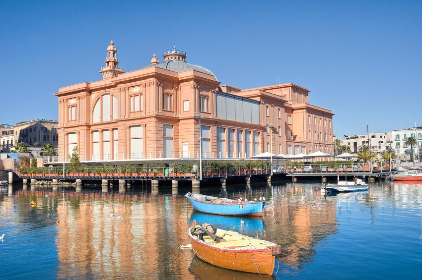Margherita Theatre. Bari. Apulia.