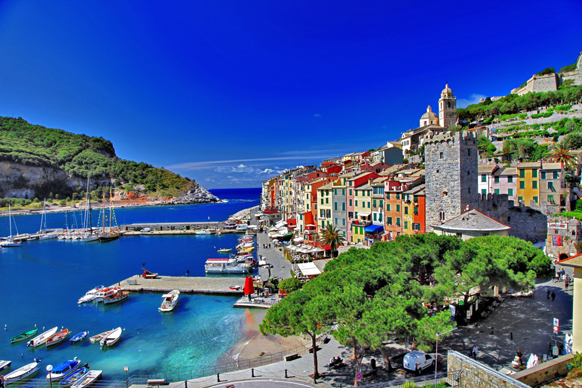 amazing Portovenere, Ligurian coast. italy