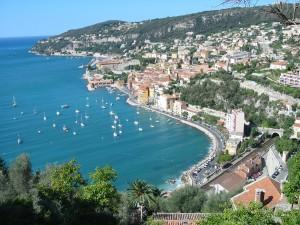 Vista di Villefranche-sur-Mer