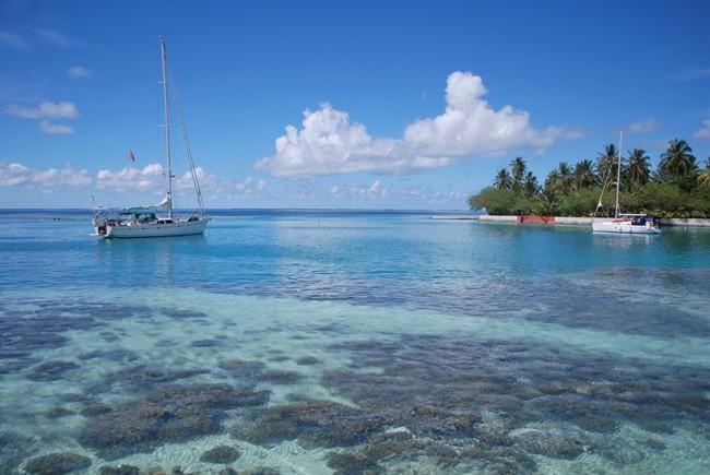 Panorama delle Maldive