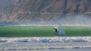 Surfista a Galizia