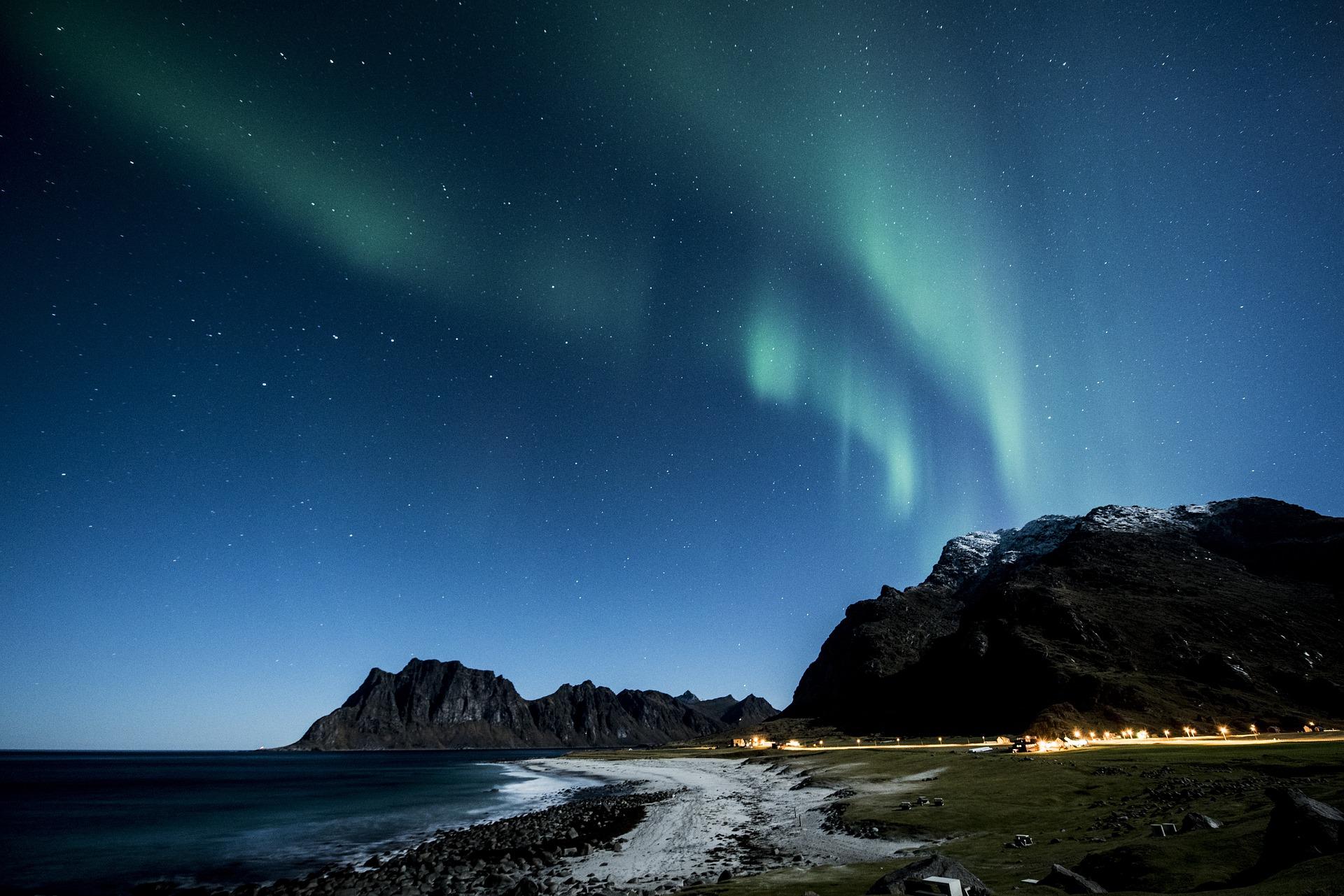 aurora borealie Finlandia