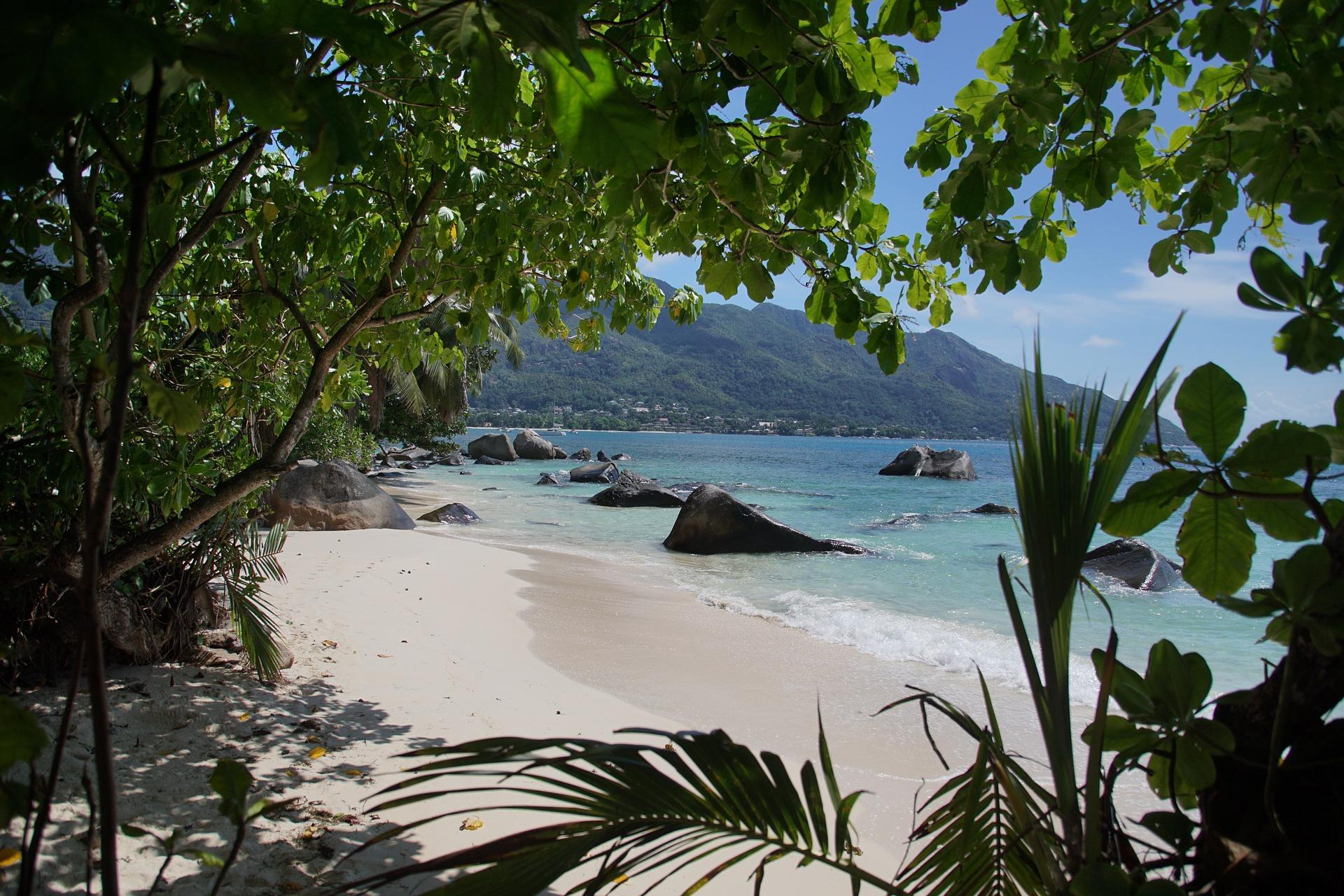 seychelles, landscape