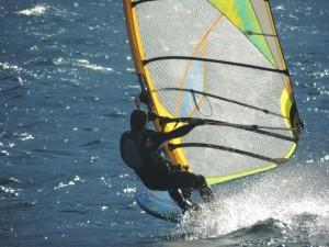 vento, mare, windsurf