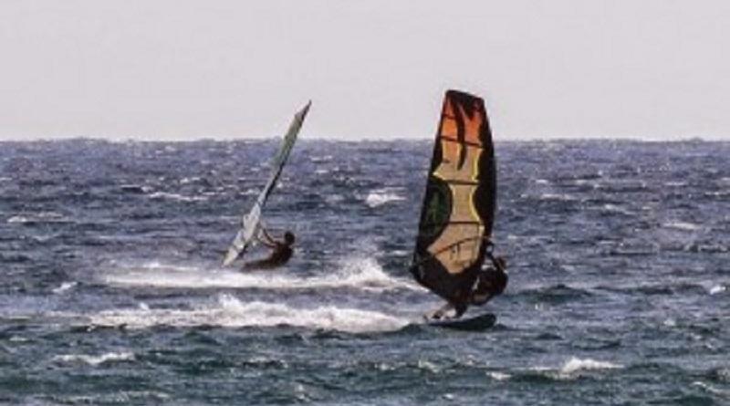 windsurf in mare aperto