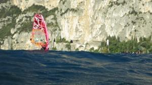windsurf, mare, rocce