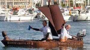 barca cioccolato
