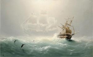 nave fantasma