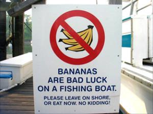 banana a bordo
